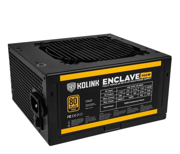 Kolink Enclave 700W 80 Plus Gold - 648168 - zdjęcie