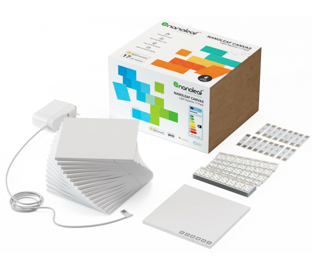Nanoleaf Canvas Smarter Kit (17 paneli, kontroler) - 651652 - zdjęcie 3