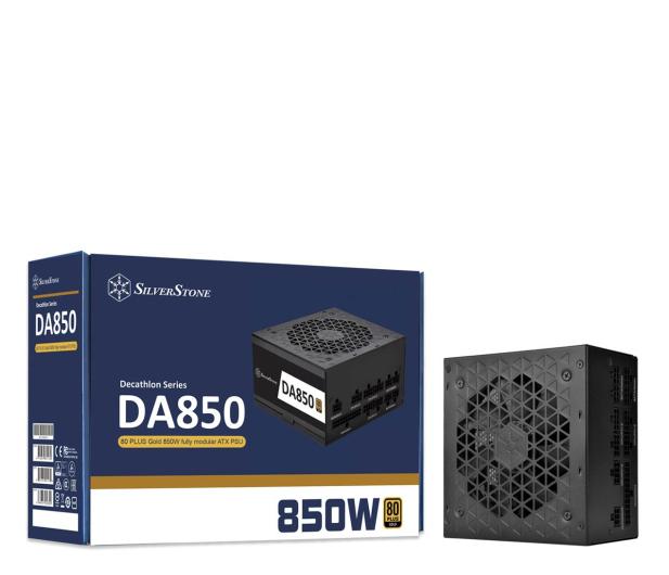 SilverStone DA850 850W 80 Plus Gold - 648232 - zdjęcie