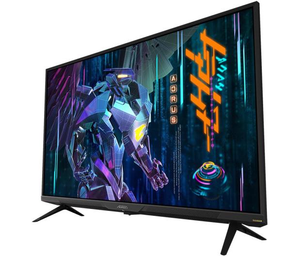 Gigabyte Aorus FV43U czarny 4K HDR HDMI 2.1 - 651999 - zdjęcie 2