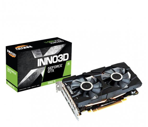 Inno3D GeForce GTX 1660 Ti Twin X2 6GB GDDR6 - 654570 - zdjęcie