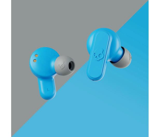 Skullcandy Dime True Wireless Szaro-błękitne - 653862 - zdjęcie 4
