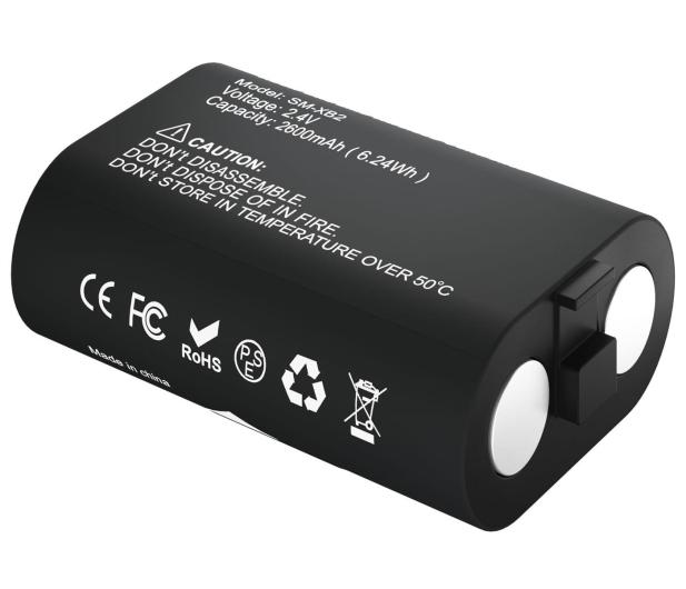 Newell XBO Gaming Set ładowarka + 2 akumulatory - Czarny - 653847 - zdjęcie 5