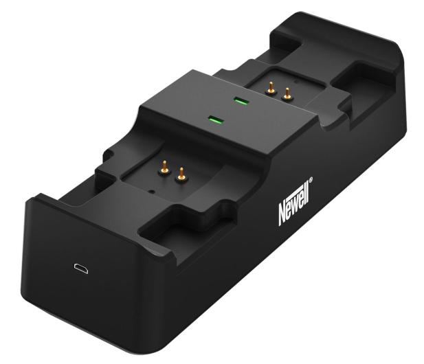 Newell XBO Gaming Set ładowarka + 2 akumulatory - Czarny - 653847 - zdjęcie 3