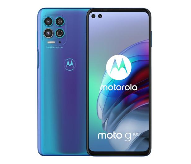 Motorola Moto G100 5G 8/128GB Iridescent Ocean 90Hz - 653525 - zdjęcie