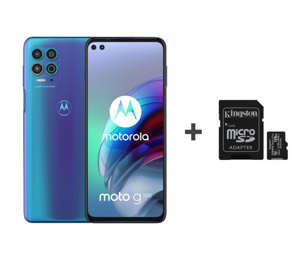 Motorola Moto G100 5G 8/128GB Iridescent Ocean 90Hz + 128GB - 653526 - zdjęcie
