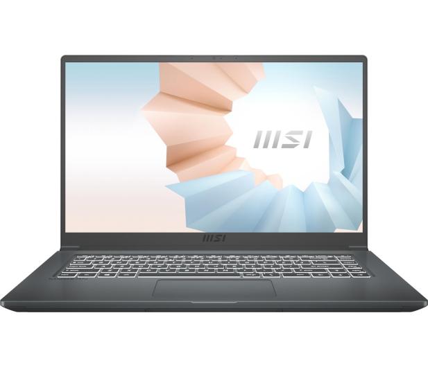 MSI Modern 15 i5-10210U/8GB/512/Win10  - 622536 - zdjęcie 3
