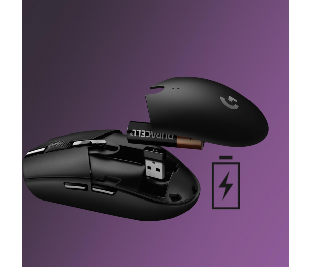 Logitech G305 LIGHTSPEED lilac  - 597364 - zdjęcie 9