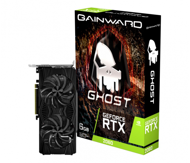 Gainward GeForce RTX 2060 Ghost 6GB GDDR6 - 656041 - zdjęcie