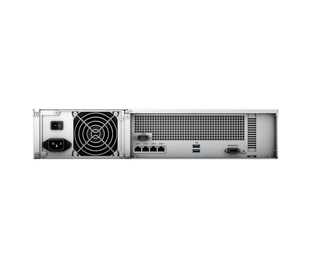 Synology RS2421+ RACK (12xHDD, 4x2.2GHz, 4GB, 2xUSB, 4xLAN) - 656762 - zdjęcie 4