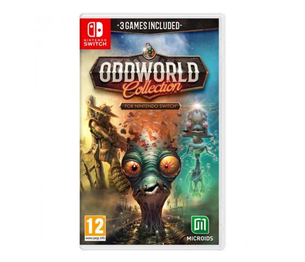 Switch Oddworld: Collection - 651080 - zdjęcie