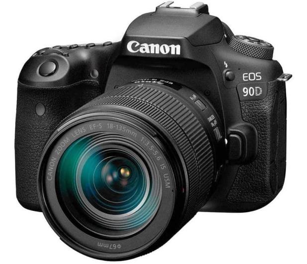 Canon EOS 90D + EF-S 18-135mm F3.5-5.6 IS USM - 646517 - zdjęcie 2