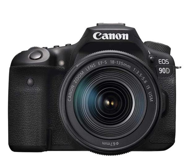 Canon EOS 90D + EF-S 18-135mm F3.5-5.6 IS USM - 646517 - zdjęcie