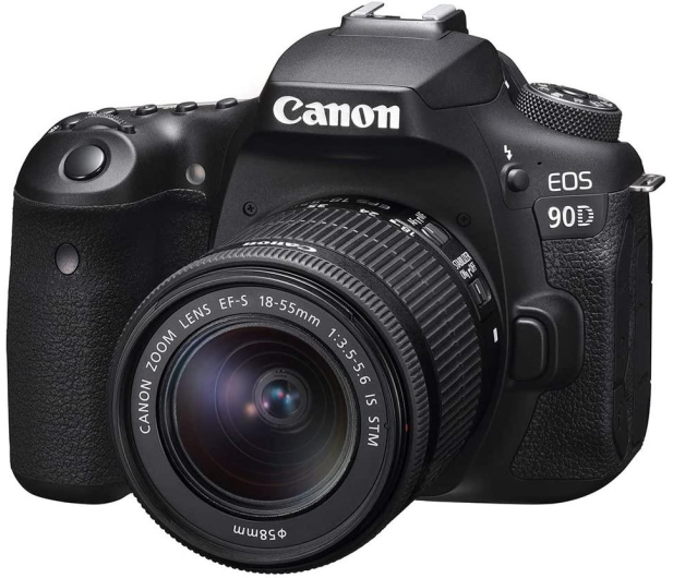 Canon EOS 90D+ EF-S 18-55mm F4-5.6 IS STM - 646515 - zdjęcie 3