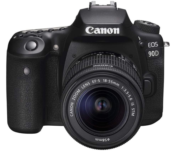 Canon EOS 90D+ EF-S 18-55mm F4-5.6 IS STM - 646515 - zdjęcie 2