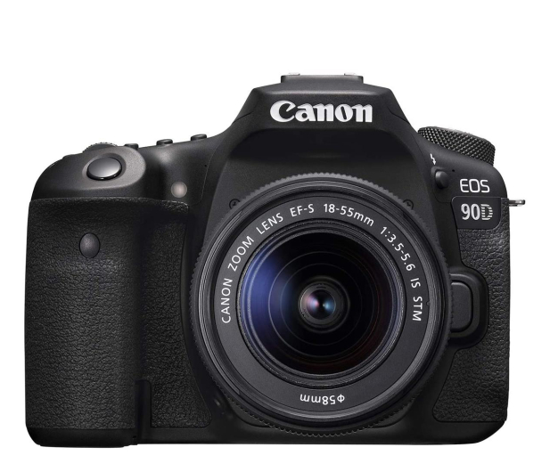 Canon EOS 90D+ EF-S 18-55mm F4-5.6 IS STM - 646515 - zdjęcie
