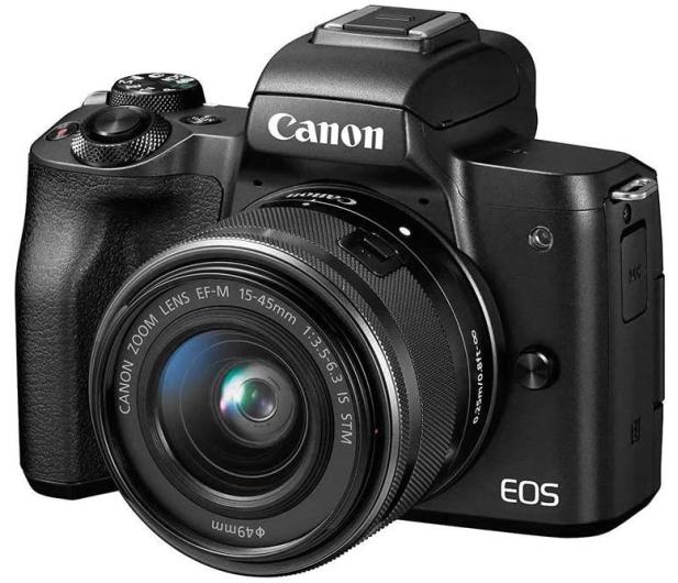 Canon EOS M50 czarny+ M15-45mm F3.5-6.3 IS STM+ M22mm - 646537 - zdjęcie 3