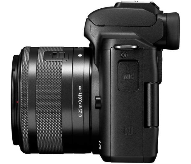 Canon EOS M50 czarny+ M15-45mm F3.5-6.3 IS STM+ M22mm - 646537 - zdjęcie 6