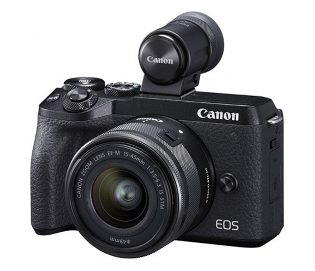 Canon EOS M6 II+ M15-45mm F3.5-6.3 IS STM+ EVF  - 646528 - zdjęcie
