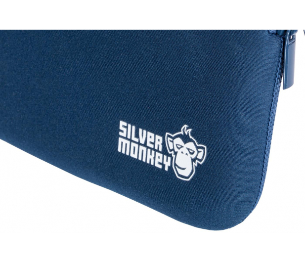 """Silver Monkey EasySleeve etui na laptopa 14,1"""" granatowe - 608406 - zdjęcie 5"""