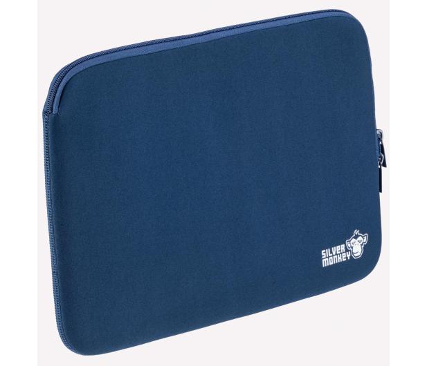 """Silver Monkey EasySleeve etui na laptopa 15,6"""" granatowe - 608407 - zdjęcie 3"""