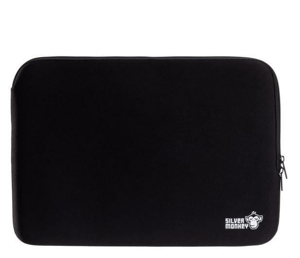 """Silver Monkey EasySleeve etui na laptopa 14,1"""" czarne - 608402 - zdjęcie"""