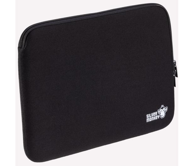 """Silver Monkey EasySleeve etui na laptopa 14,1"""" czarne - 608402 - zdjęcie 3"""