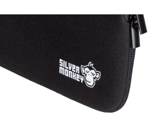 """Silver Monkey EasySleeve etui na laptopa 14,1"""" czarne - 608402 - zdjęcie 5"""