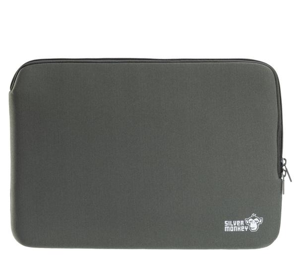 """Silver Monkey EasySleeve etui na laptopa 14,1"""" zielone - 613302 - zdjęcie"""