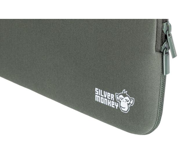"""Silver Monkey EasySleeve etui na laptopa 14,1"""" zielone - 613302 - zdjęcie 5"""