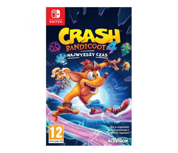 Switch Crash Bandicoot 4: Najwyższy Czas - 651905 - zdjęcie