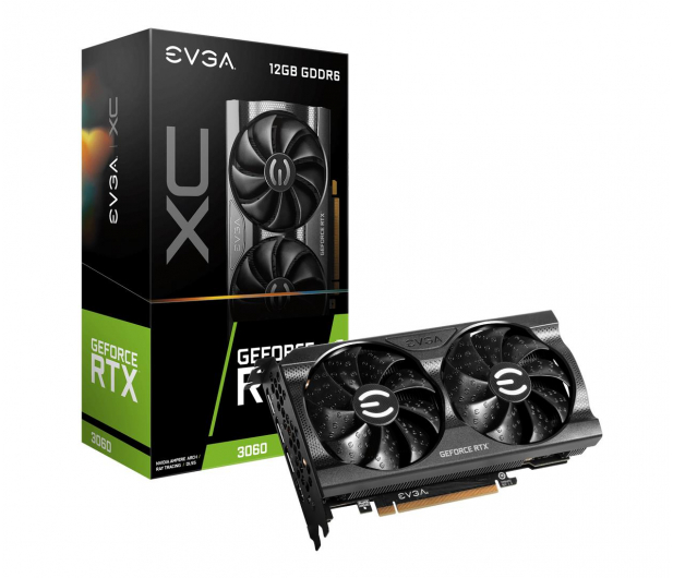 EVGA GeForce RTX 3060 XC GAMING 12GB GDDR6 - 651589 - zdjęcie