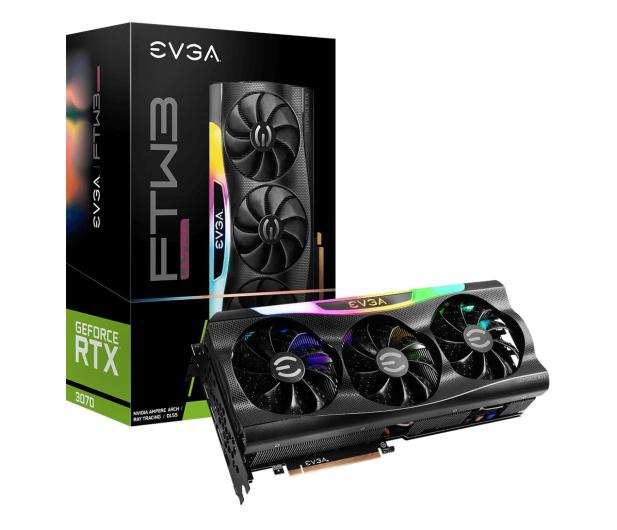 EVGA GeForce RTX 3070 FTW3 ULTRA GAMING 8GB GDDR6 - 651590 - zdjęcie