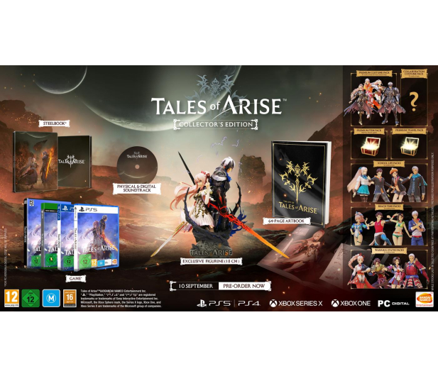 PC Tales of Arise Collectors Edition - 651049 - zdjęcie 2