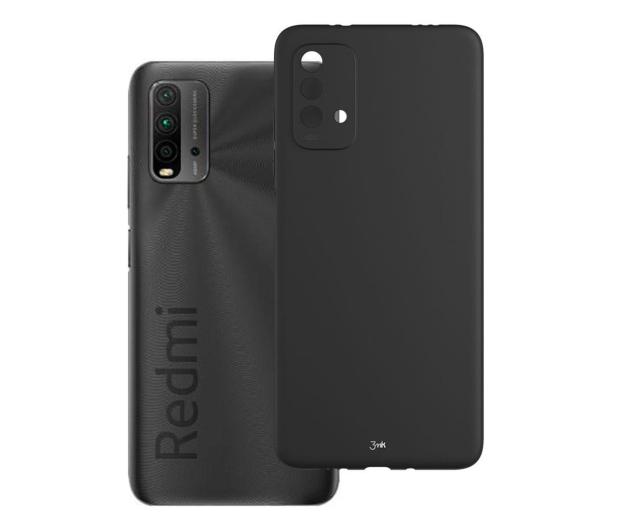 3mk Matt Case do Xiaomi Redmi 9T czarny - 649821 - zdjęcie