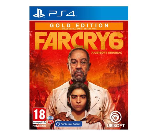 PlayStation Far Cry 6 - Gold Edition - 580068 - zdjęcie