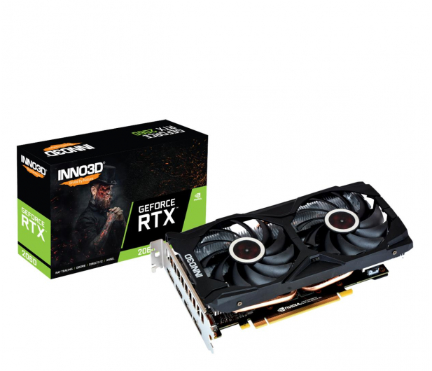 Inno3D GeForce RTX 2060 Twin X2 6GB GDDR6 - 660886 - zdjęcie
