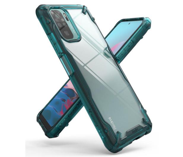 Ringke Fusion X do Xiaomi Redmi Note 10/10S zielony - 654372 - zdjęcie 2