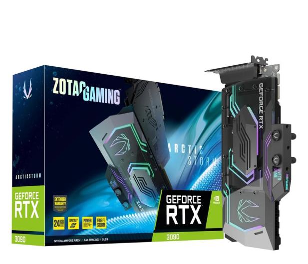 Zotac GeForce RTX 3090 Arctic Storm 24GB GDDR6X - 661207 - zdjęcie