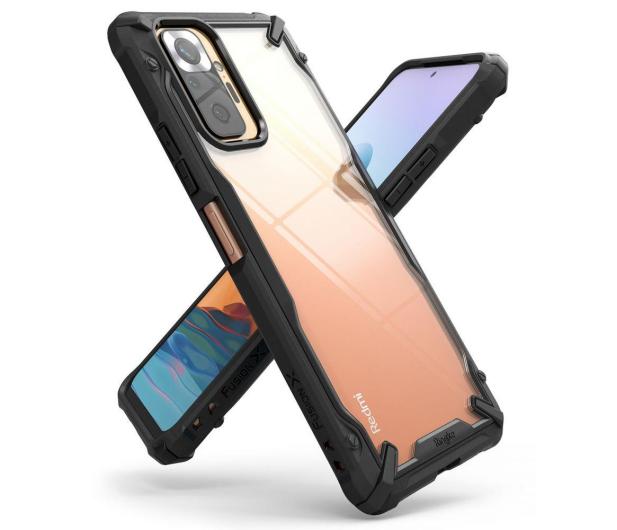 Ringke Fusion X do Xiaomi Redmi Note 10 Pro czarny - 654438 - zdjęcie 2