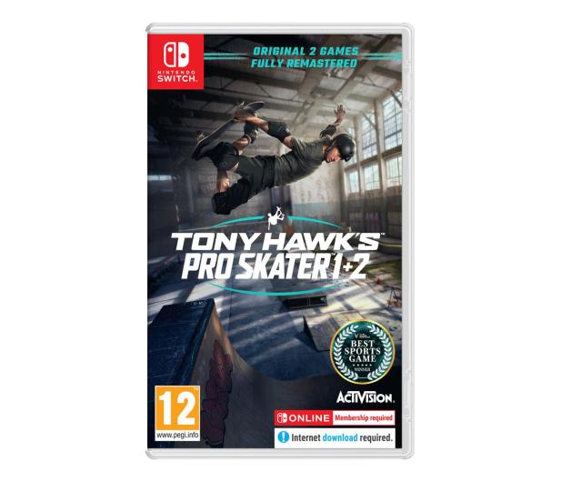 Switch Tony Hawk's Pro Skater 1+2 - 659953 - zdjęcie