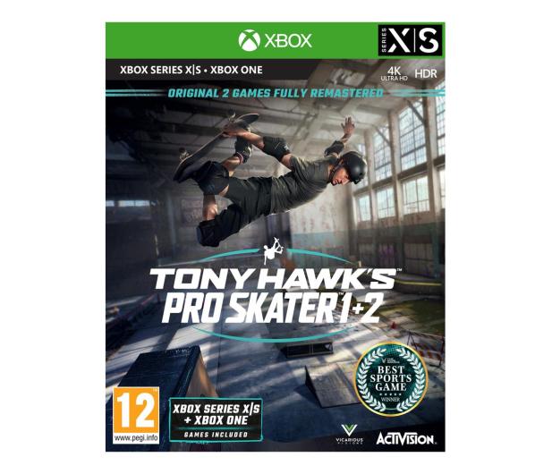 Xbox Tony Hawk's Pro Skater 1+2 - 659955 - zdjęcie