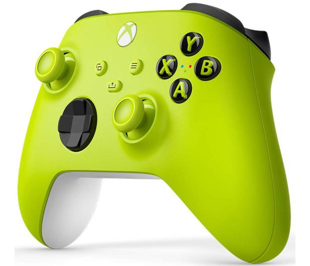 Microsoft Xbox Series Controller - Electric Volt - 652244 - zdjęcie 3