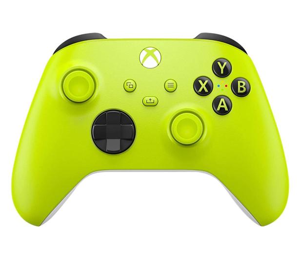 Microsoft Xbox Series Controller - Electric Volt - 652244 - zdjęcie