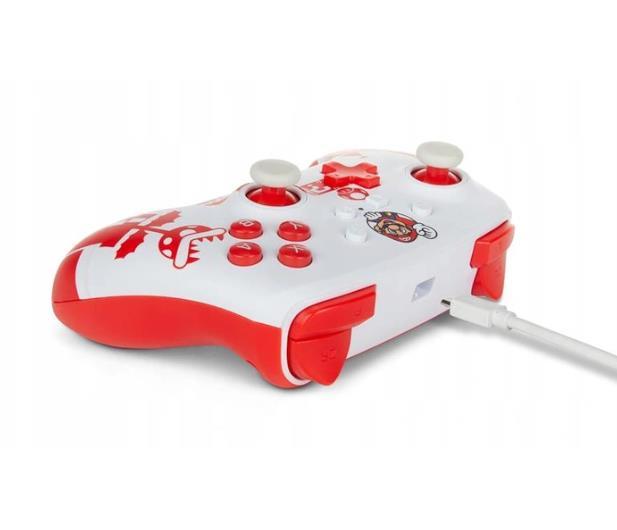 PowerA SWITCH Pad przewodowy Mario Red & White - 655750 - zdjęcie 5