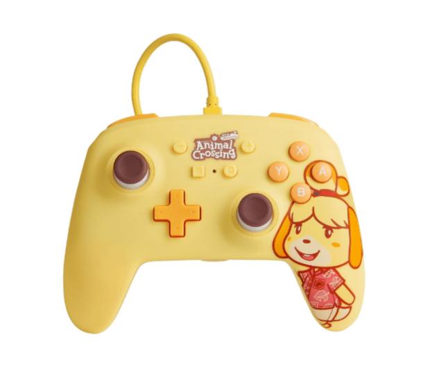 PowerA SWITCH Pad przewodowy Animal Crossing Isabelle - 655745 - zdjęcie