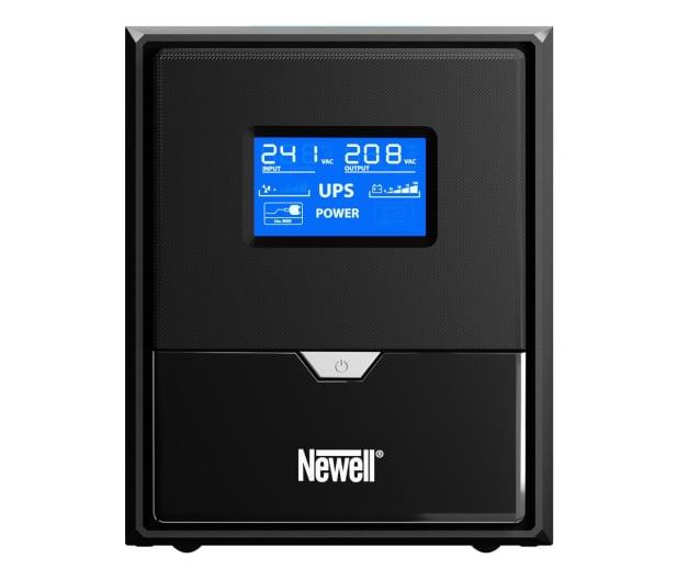 Newell UPS U1000 (1000VA/600W, 3x Schuko, LCD)  - 655270 - zdjęcie