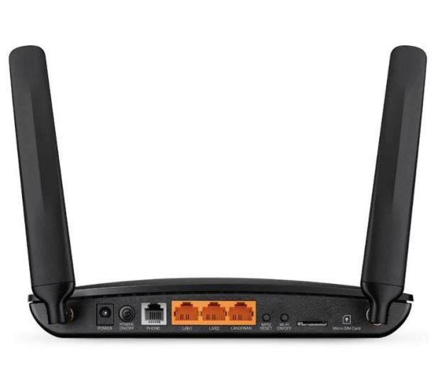 TP-Link TL-MR6500V (300Mbps b/g/n, LTE 150Mbps) 4xLAN VoIP - 648934 - zdjęcie 3