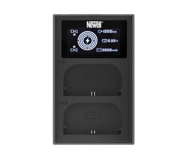 Newell FDL-USB-C do akumulatorów LP-E6 - 657489 - zdjęcie 2