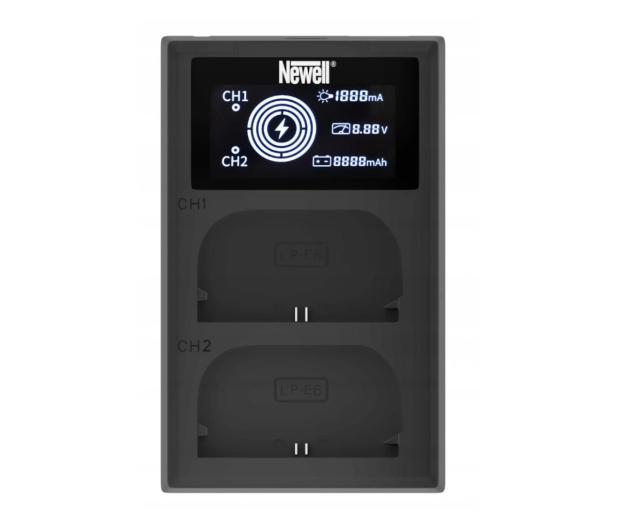 Newell FDL-USB-C do akumulatorów NP-W126 - 657495 - zdjęcie